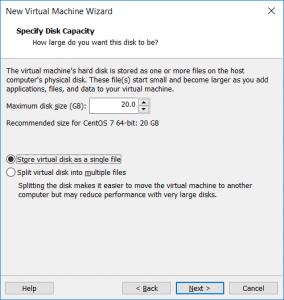 vmware disk specification